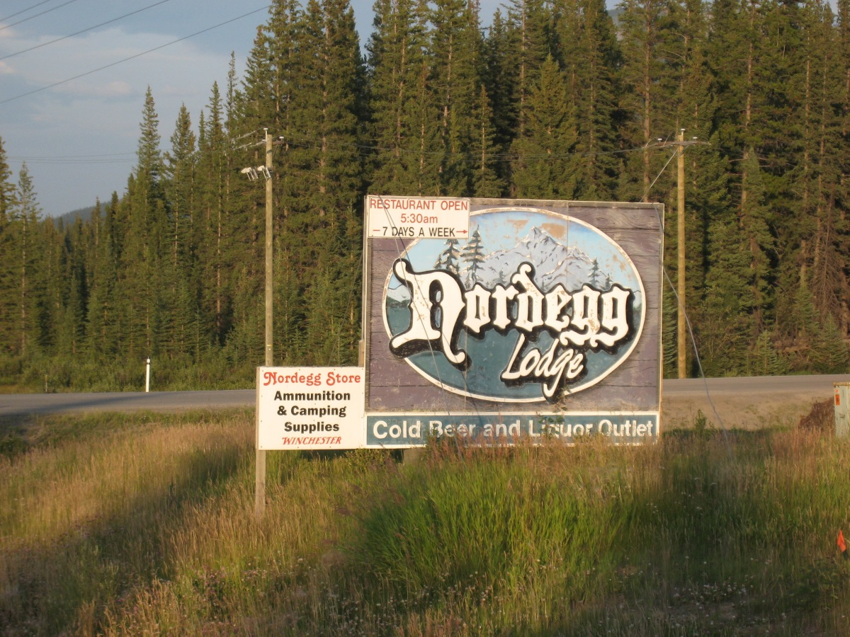 Nordegg Alberta Rocky Mountains